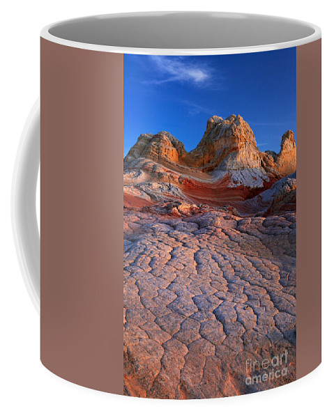 America Coffee Mug featuring the photograph White Pocket Afterglow by Inge Johnsson