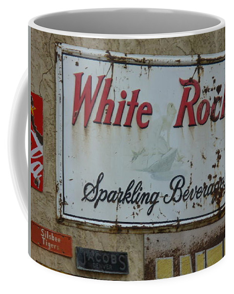Lyle Coffee Mug featuring the painting White Rock by Lord Frederick Lyle Morris