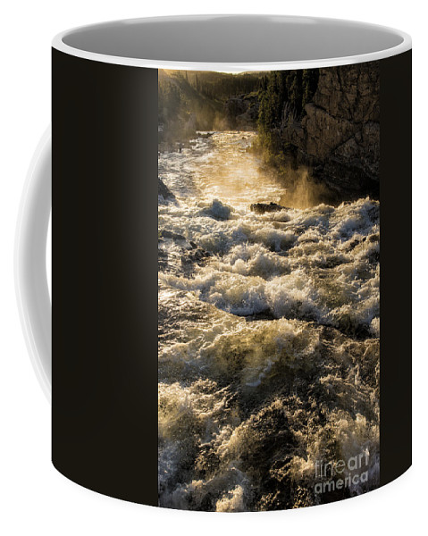 Glacier Coffee Mug featuring the photograph Whitewater by Timothy Hacker