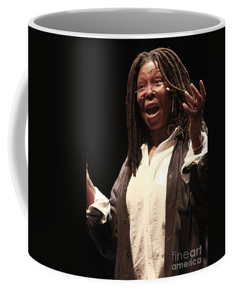 Pictures For Sale Coffee Mug featuring the photograph Whoopi Goldberg by Concert Photos