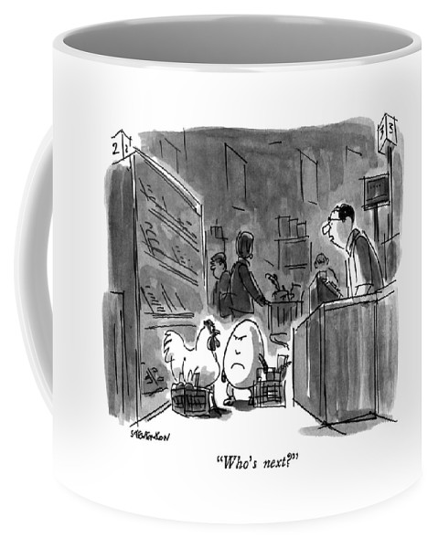 Who's Next? Coffee Mug