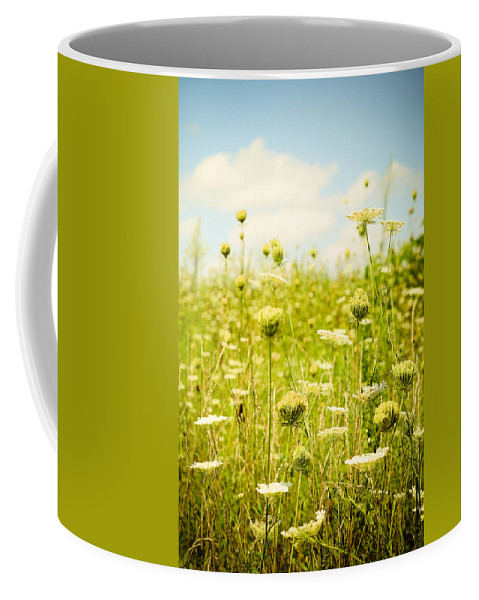 Sky Coffee Mug featuring the photograph Wild Abandon by Olivia StClaire