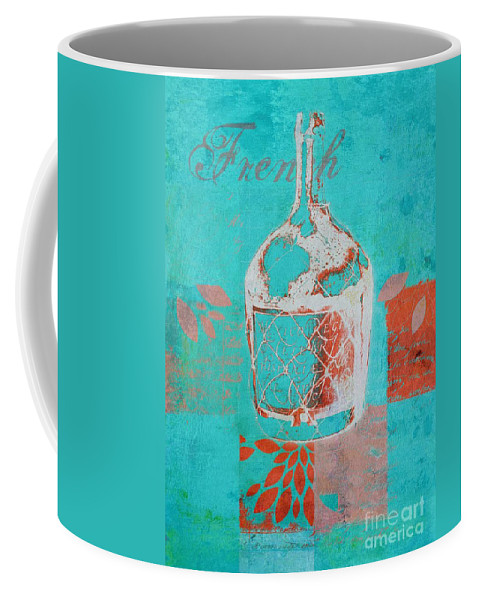 Blue Coffee Mug featuring the digital art Wild Still Life - 12311a by Variance Collections