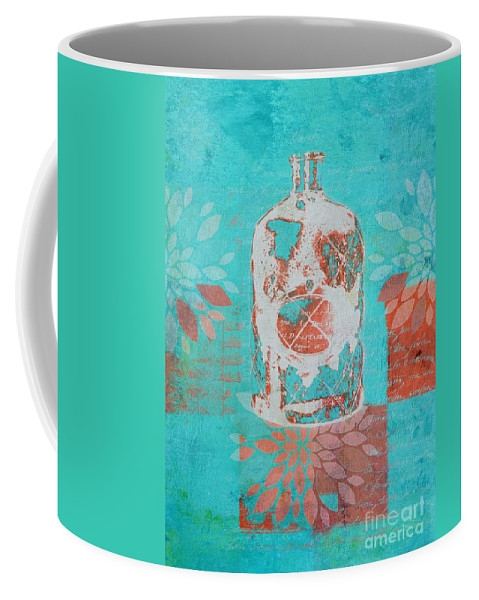 Blue Coffee Mug featuring the digital art Wild Still Life - 13311a by Variance Collections