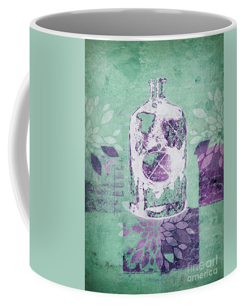Green Coffee Mug featuring the digital art Wild Still Life - 32311b by Variance Collections