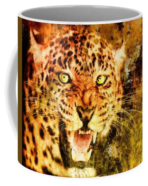 Wild Coffee Mug featuring the digital art Wild Threat by Lyriel Lyra