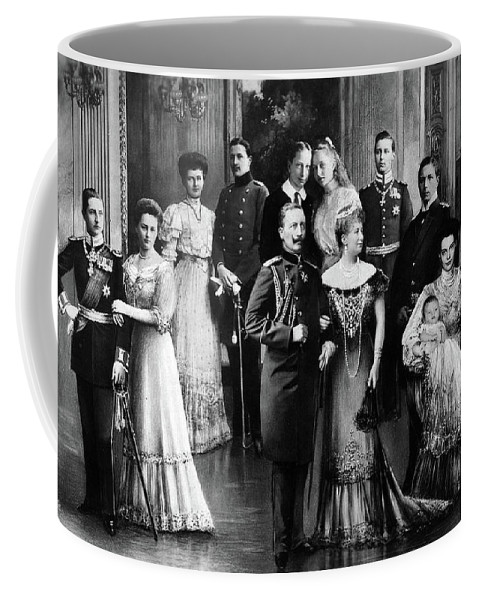 1907 Coffee Mug featuring the painting Wilhelm II (1859-1941) by Granger