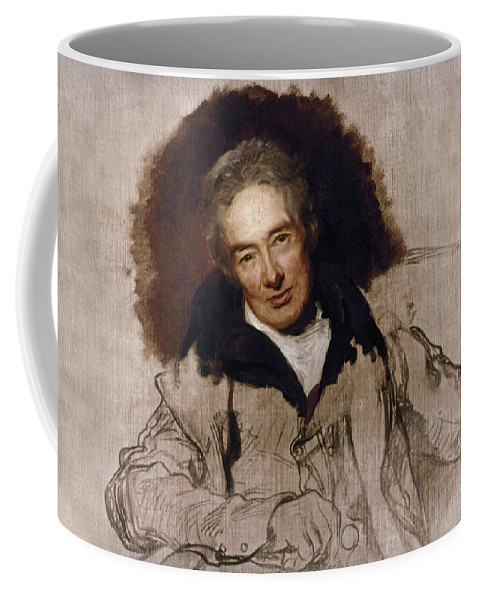 1828 Coffee Mug featuring the painting William Wilberforce (1759-1833) by Granger
