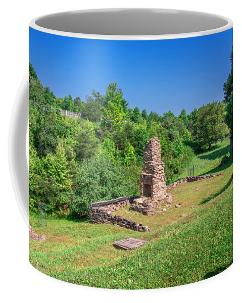 Cumberland Gap National Historical Park Coffee Mug featuring the photograph Willie Gibbons House by Mary Almond