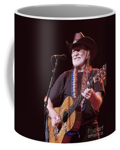 Songwriter Coffee Mug featuring the photograph Willie Nelson by Concert Photos