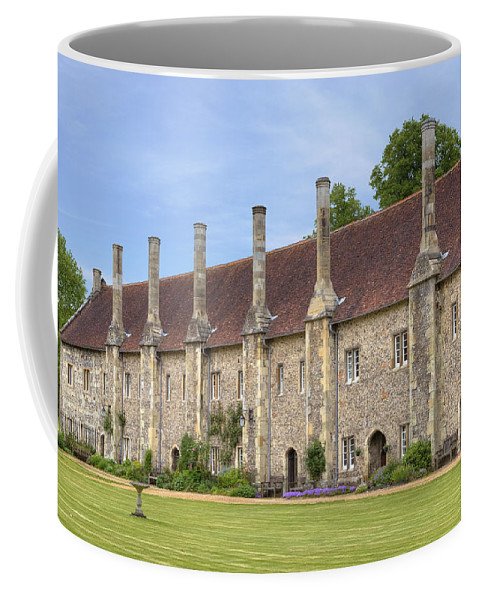 Hospital Of St Cross Coffee Mug featuring the photograph Winchester by Joana Kruse