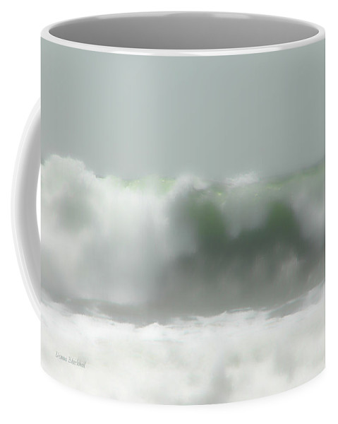 Ocean Coffee Mug featuring the photograph Wind And Sea by Donna Blackhall