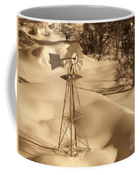 Wind Mill Coffee Mug featuring the photograph Wind Mill by Brandi Maher
