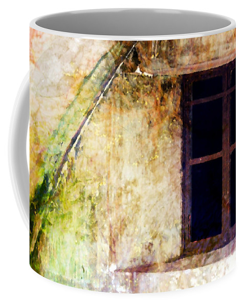Window Coffee Mug featuring the photograph Window - Water Color - Fort by Marie Jamieson