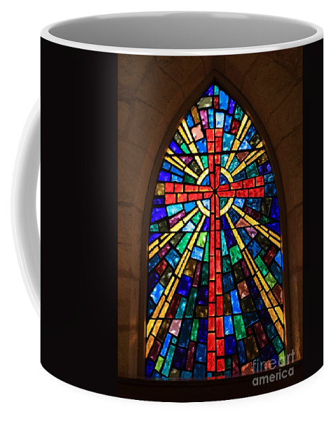 Window Coffee Mug featuring the photograph Window At The Little Church In La Villita by Carol Groenen