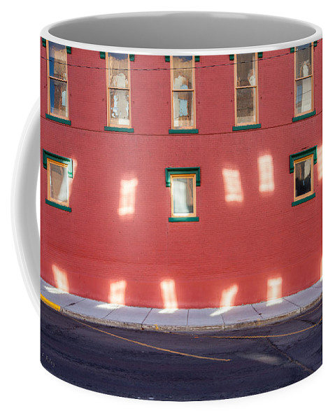 Windows Coffee Mug featuring the photograph Window Reflections by Fran Riley