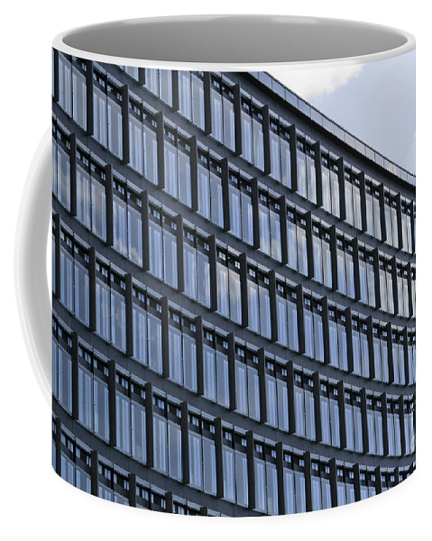 Windows In Copenhagen Coffee Mug featuring the photograph Windows In Copenhagen by Victoria Harrington