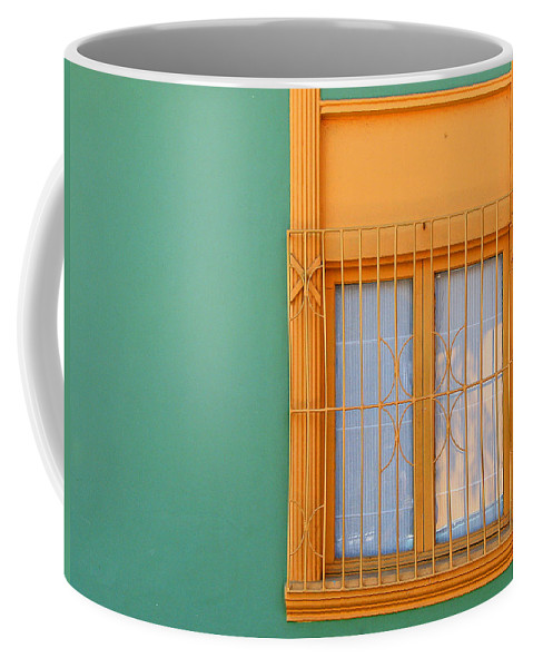 Color Coffee Mug featuring the photograph Windows Of The World - Santiago Chile by Rick Locke