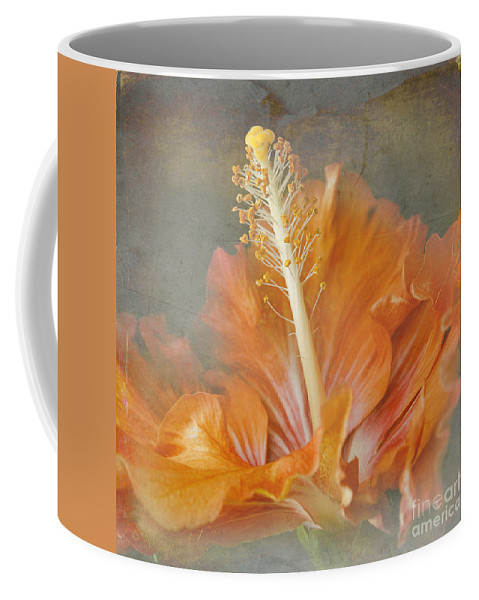 Tropical Hibiscus Coffee Mug featuring the photograph Winged Surprises by Sharon Mau