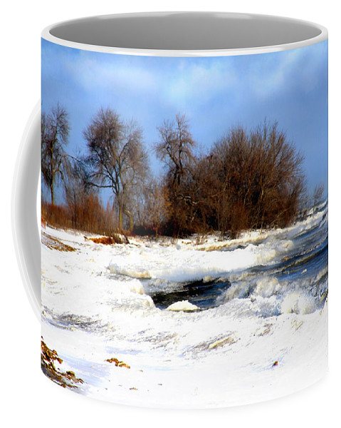 Landscape Coffee Mug featuring the photograph Winter Beauty by Debbie Nobile