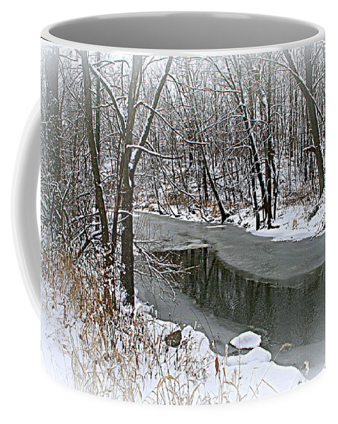 Landscape Coffee Mug featuring the photograph Winter Dreams by Kay Novy