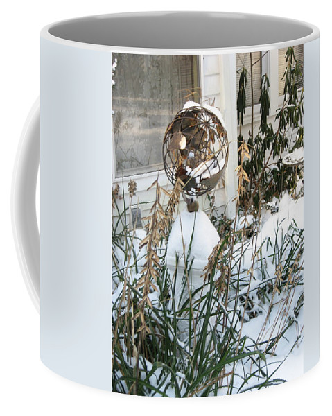 Winter Coffee Mug featuring the painting Winter by Lord Frederick Lyle Morris