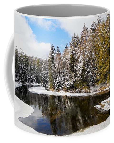 North America Coffee Mug featuring the photograph Winter Impressions ... by Juergen Weiss