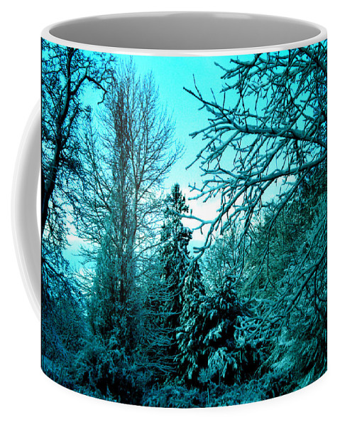 Colette Coffee Mug featuring the photograph Winter In Denmark by Colette V Hera Guggenheim