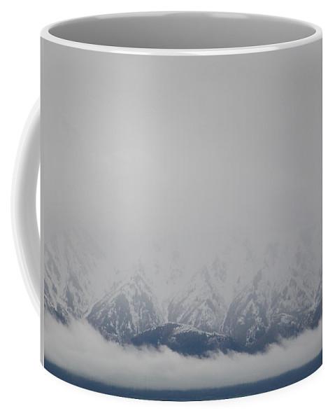 Winter Mountain Coffee Mug featuring the photograph Winter Mountain by Jennifer Allen