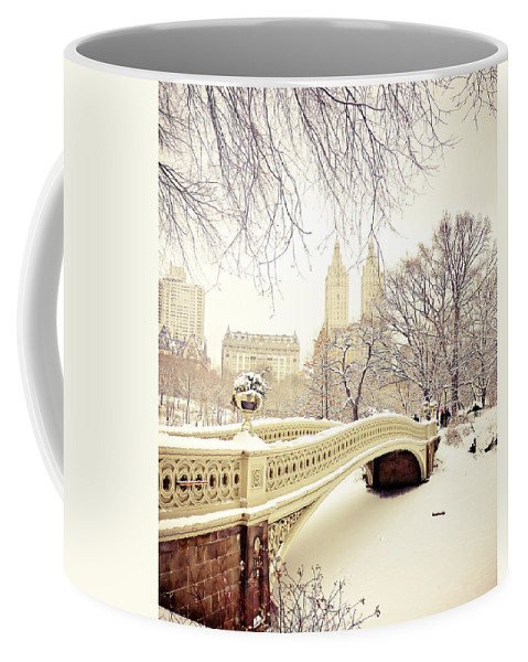 Nyc Coffee Mug featuring the photograph Winter - New York City - Central Park by Vivienne Gucwa