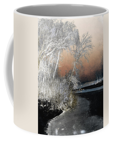 Winter Coffee Mug featuring the photograph Winter Shroud by Shawna Rowe