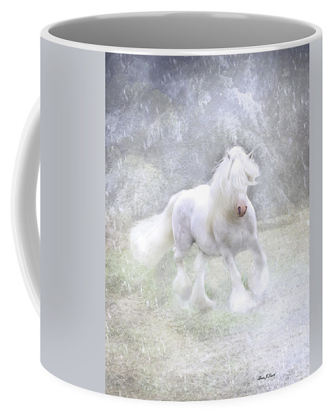Horses Coffee Mug featuring the photograph Winter Spirit by Fran J Scott