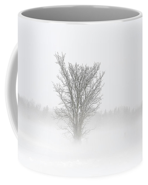 Blizzard Coffee Mug featuring the photograph Winter Storm by Teresa Zieba