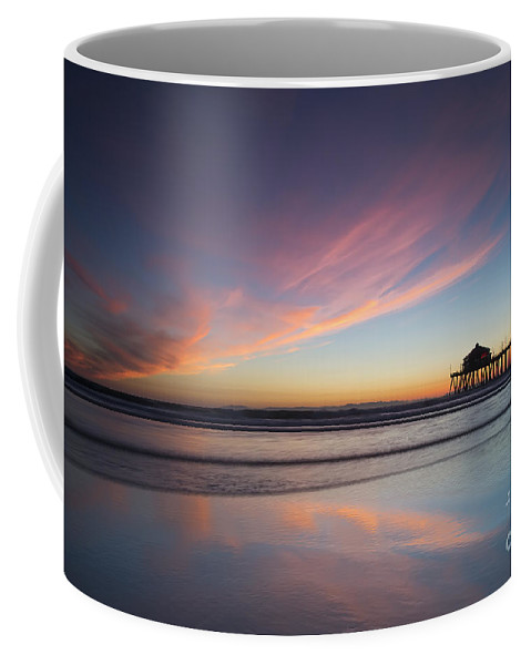 Sunset Coffee Mug featuring the photograph Winter Sunset by Patrice Dwyer