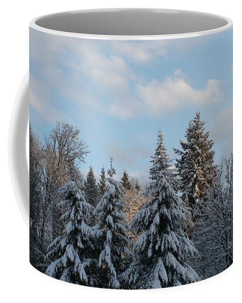 Winter Coffee Mug featuring the photograph Winter Wonder by Nicki Bennett