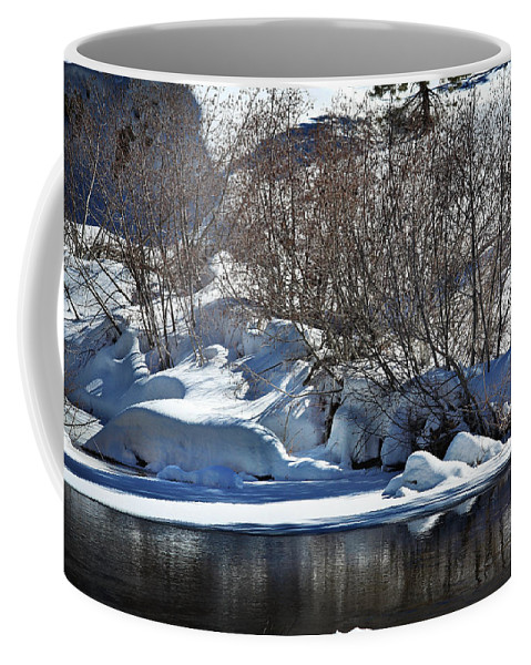 Snow Coffee Mug featuring the photograph Winter Wonderland by Shawn McMillan