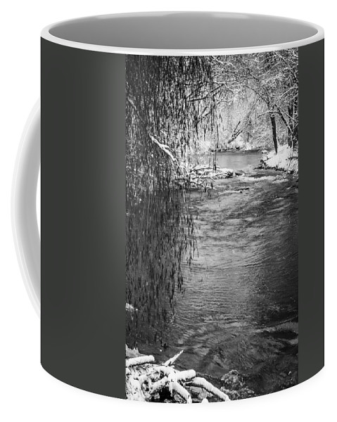 Waupaca River Coffee Mug featuring the photograph Winters Dream by Thomas Young