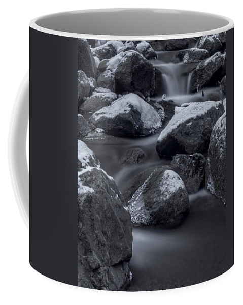 Creek Coffee Mug featuring the photograph Winters Flow 2 by Ernie Echols