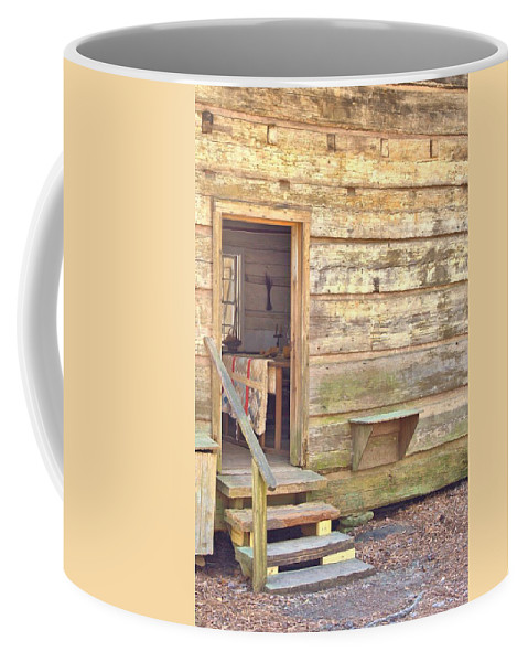 8205 Coffee Mug featuring the photograph Wipe Your Feet by Gordon Elwell