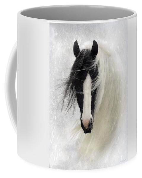 Horses Coffee Mug featuring the photograph Wisteria by Fran J Scott