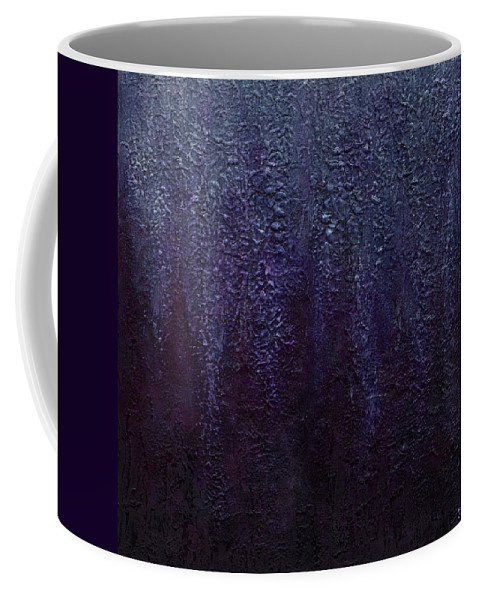 Art Coffee Mug featuring the painting Wisteria by Laura Teti