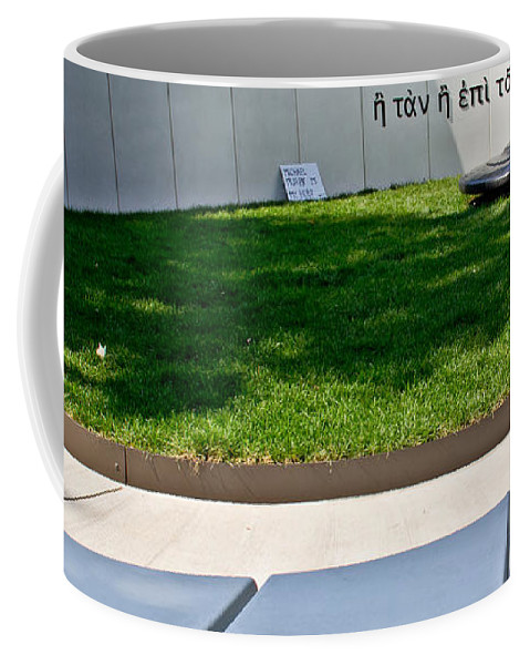 Veterans Coffee Mug featuring the photograph With It Or On It by Tom Gari Gallery-Three-Photography