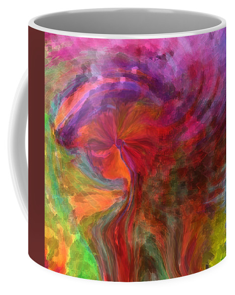 Woman Art Coffee Mug featuring the digital art Women by Linda Sannuti