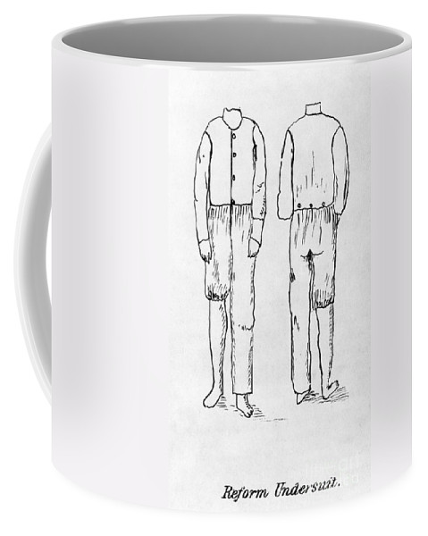 1878 Coffee Mug featuring the photograph Womens Undergarment, 1878 by Granger