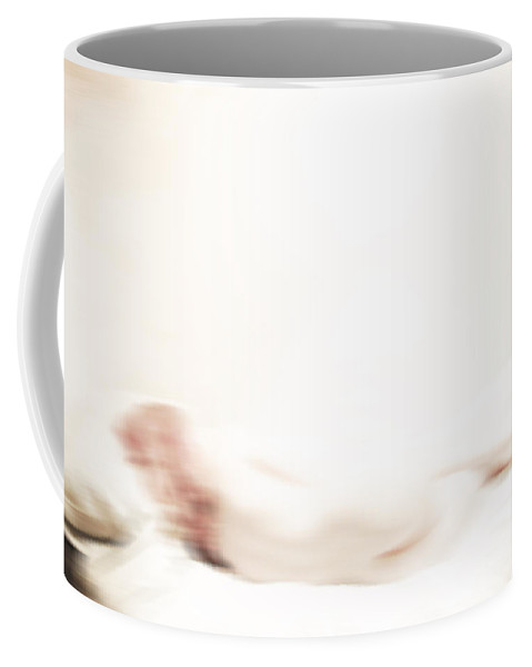 Sleep Coffee Mug featuring the photograph Wonder How You Sleep by The Artist Project