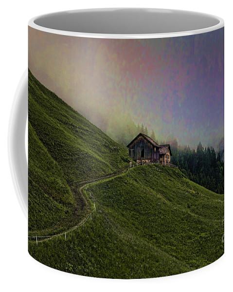 Farm Coffee Mug featuring the photograph Wonderland-2 by Casper Cammeraat