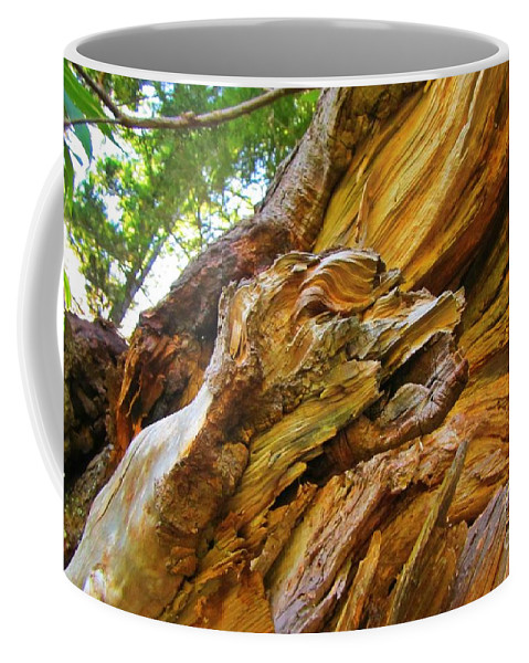 Wood Creature Coffee Mug featuring the photograph Wood Creature by John Malone