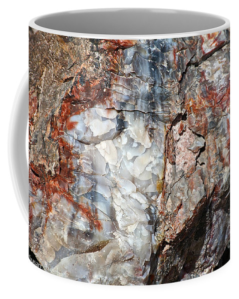 Ancient Coffee Mug featuring the photograph Wood From Another Era by Susan Herber