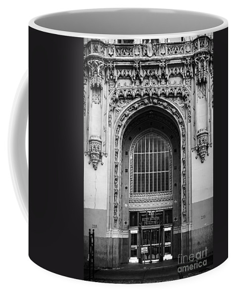 Woolworth Coffee Mug featuring the photograph Woolworth Building Entrance by James Aiken