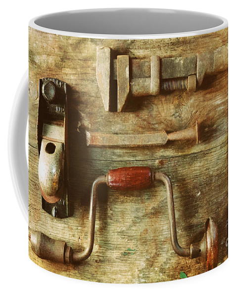 Work Coffee Mug featuring the photograph Work Tools by Janice Pariza
